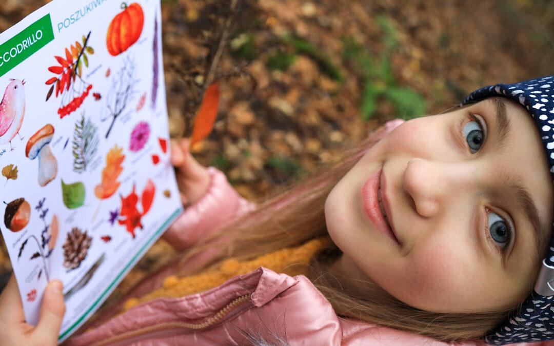Jesienny poszukiwacz skarbów – Zabawa w lesie dla małych odkrywców