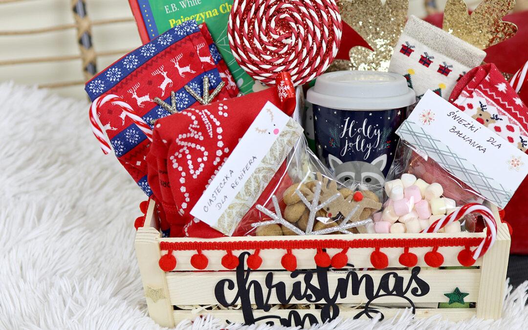 Skrzynka ze świątecznymi niespodziankami – Pomysł na prezent