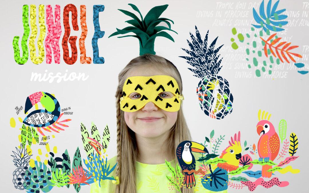 Maska Ananas – pomysł na kreatywną maskę karnawałową