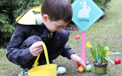 Polowanie na jajka – Pomysł na wielkanocną zabawę