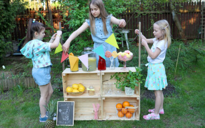 Lemoniadove Love – Budujemy stoisko z lemoniadą – Pomysł na zabawę