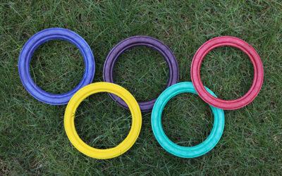Igrzyska Olimpijskie w Twoim ogródku – proste sportowe zabawy dla dzieci
