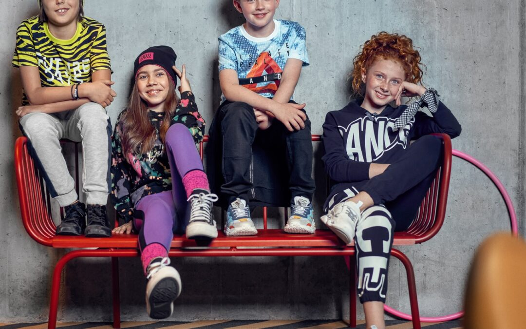 Street Festival: styl ulic wielkich miast w ubraniach dla dzieci